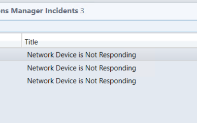 Create Meaningful SCSM Incident Titles from SCOM Alerts for Network Devices